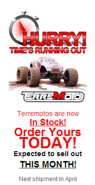 redcat racing terremoto brushless rc truck