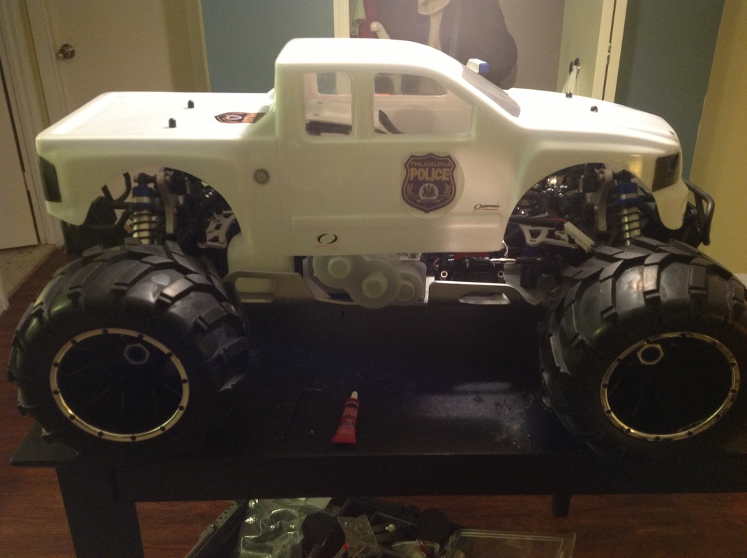 redcat racing rampage body
