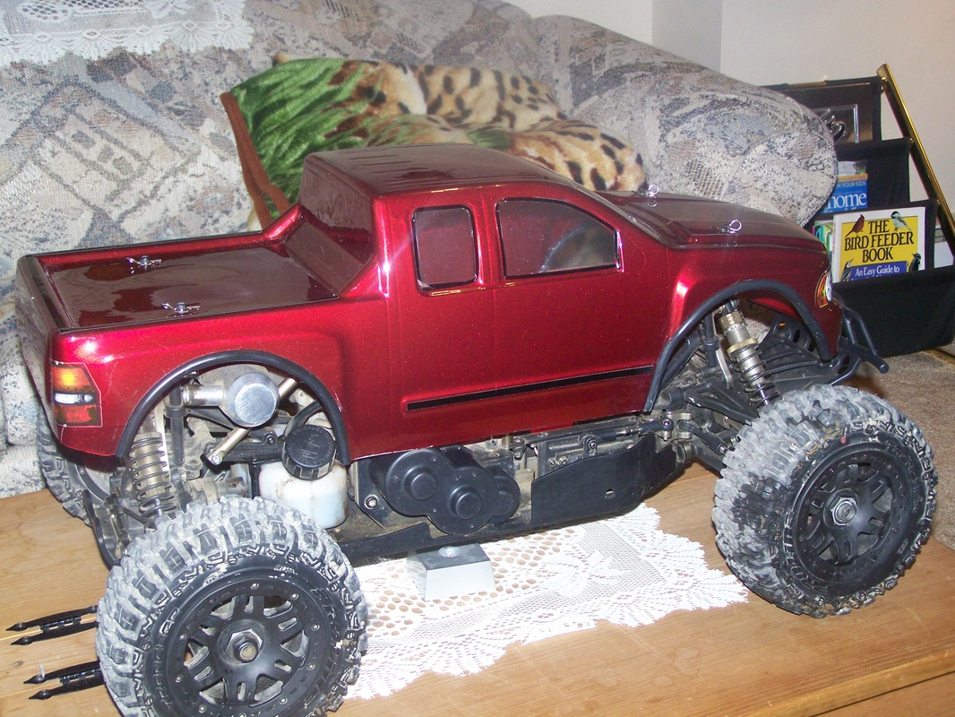 redcat racing rampage xt 1/5 scale gas rc truck