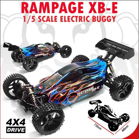 Redcat Racing Rampage XB-E 1/5 Brushless Buggy