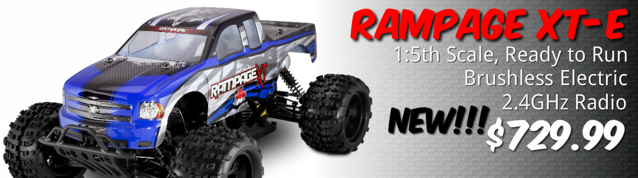 Redcat Racing Rampage XT-E 1/5 Brushless RC Monster Truck