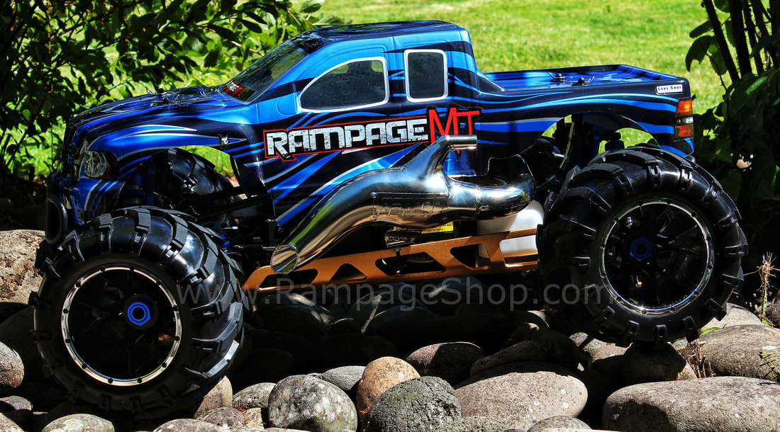 redcat racing rampage mt v3 1/5 truck