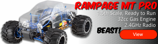 Redcat Racing Rampage MT PRO Parts & Hop Ups For Sale