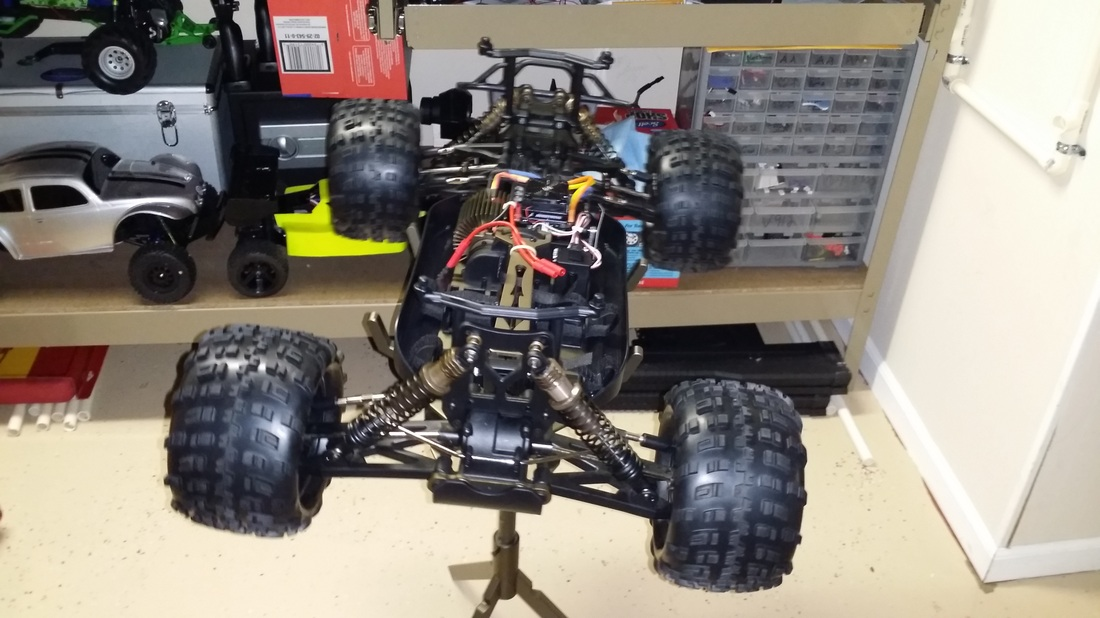 redcat rampage 1/5 brushless rc truck xte xt