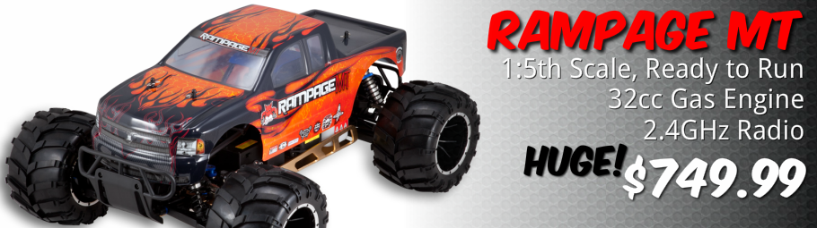 Redcat Rampage MT 32cc Engine