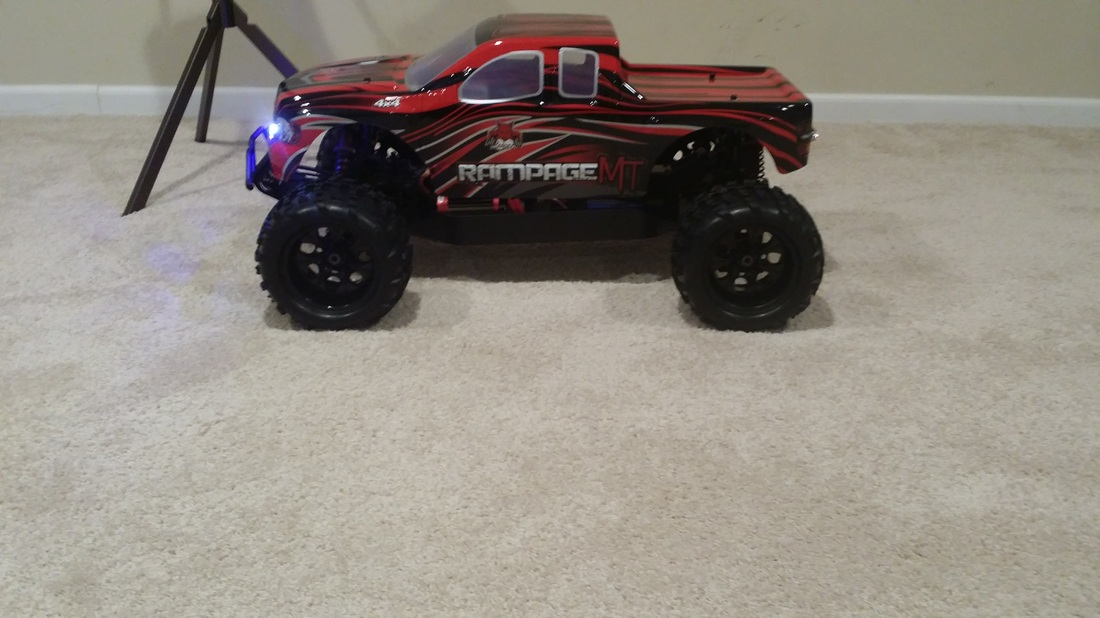 redcat racing rampage xt xbe xte