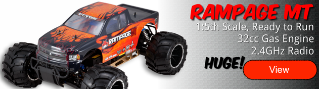 Redcat Racing Rampage MT 1/5 Scale Gas Monster Truck - RampageShop.com